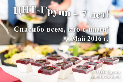 День рождения ЦНТ-Групп - нам 7 лет!