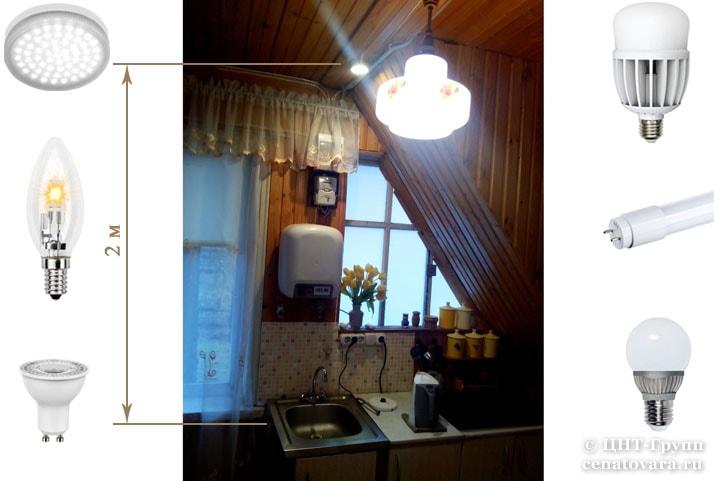 Лампы в ассортименте ЦНТ-Групп: светодиодные, линейные, рефлекторные, галогеновые, лампы GX53
