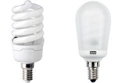Энергосберегающая лампа Е14