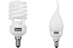 Энергосберегающие лампы E14