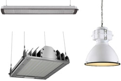 Промышленные подвесные светильники