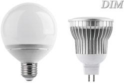 Диммированные светодиодные лампы