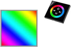 Многоцветные RGB панели LED