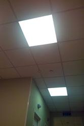 Потолочные светодиодные панели Армстронг