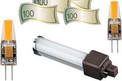 Цена светодиодного светильника