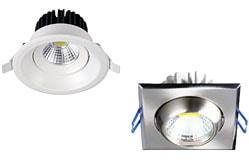 Купить точечные светодиодные светильники