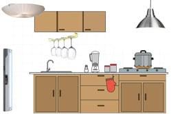 Линейные светодиодные светильники для кухни