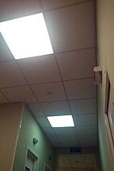 Светодиодные светильники потолочные Армстронг