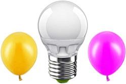 Купить лампу шар светодиодную