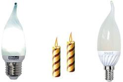Лампа светодиодная Е14 свеча