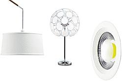 Светодиодный светильник теплый белый свет