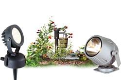 Грунтовые светильники для ландшафтного дизайна