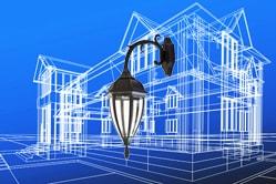 Светильники для подсветки фасадов