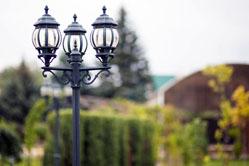 Уличный светильник для дачи
