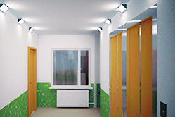 Светильники для ЖКХ с датчиком движения